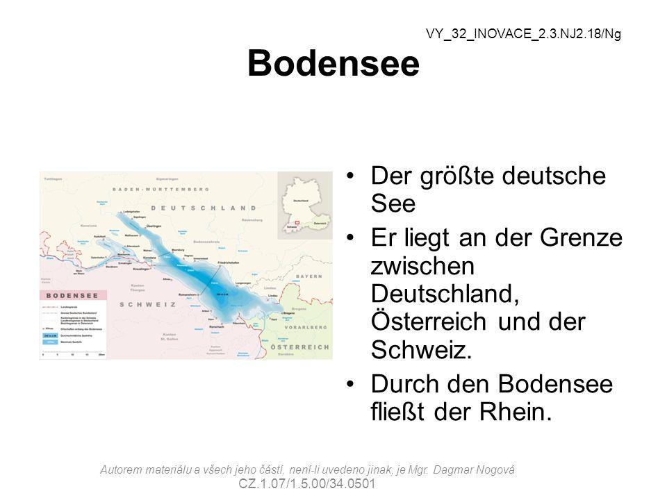 Bodensee Der größte deutsche See