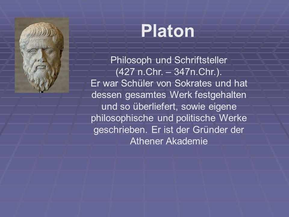 Philosoph und Schriftsteller