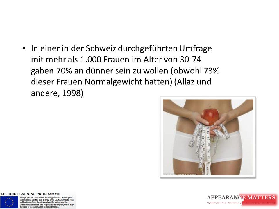 In einer in der Schweiz durchgeführten Umfrage mit mehr als 1