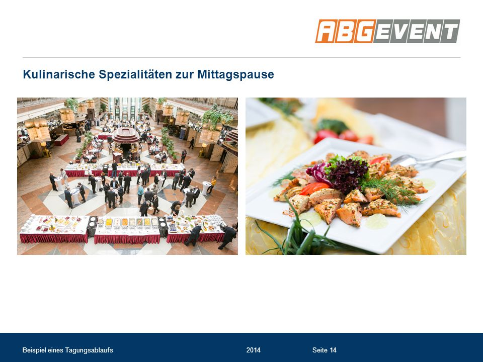 Kulinarische Spezialitäten zur Mittagspause