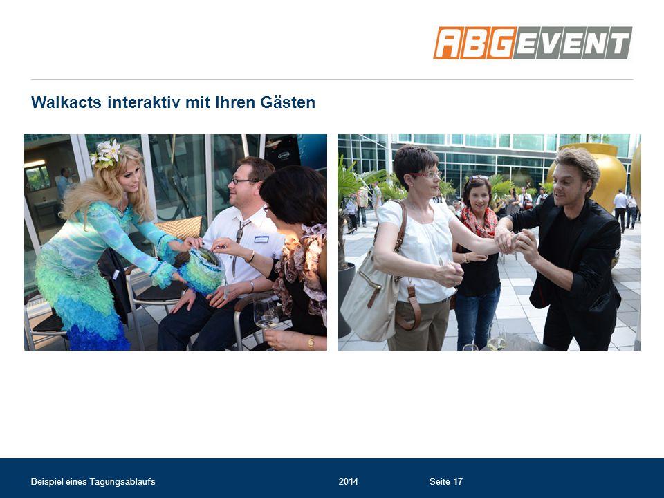Walkacts interaktiv mit Ihren Gästen