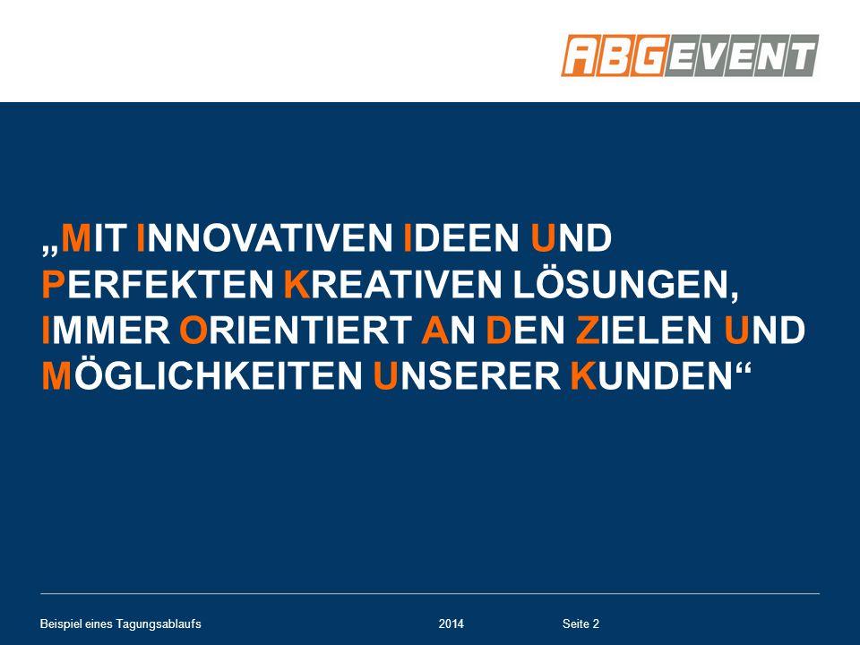 """""""Mit innovativen Ideen und perfekten kreativen Lösungen, immer orientiert an den Zielen und Möglichkeiten unserer Kunden"""
