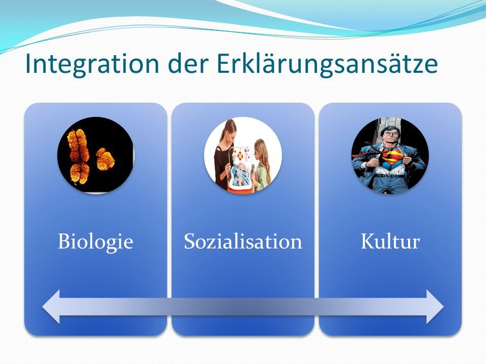 Integration der Erklärungsansätze