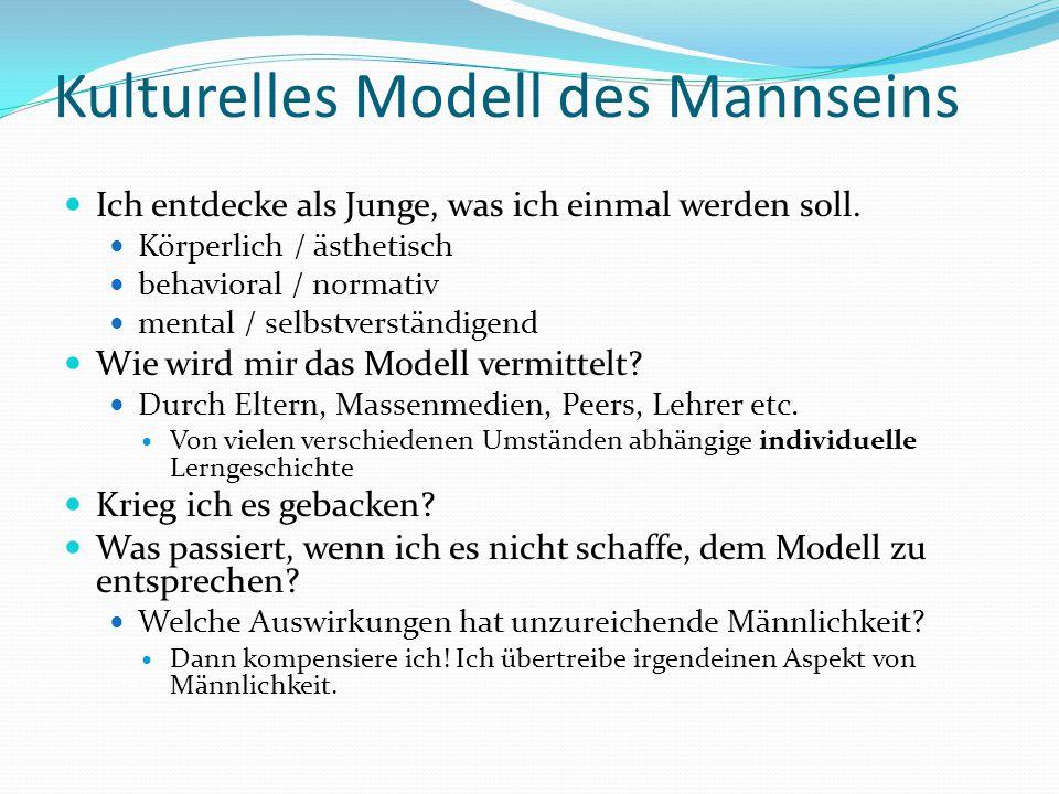 Kulturelles Modell des Mannseins