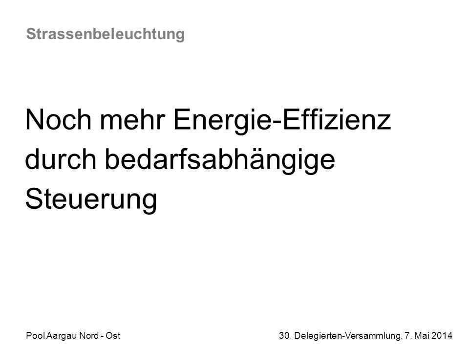 Noch mehr Energie-Effizienz durch bedarfsabhängige Steuerung