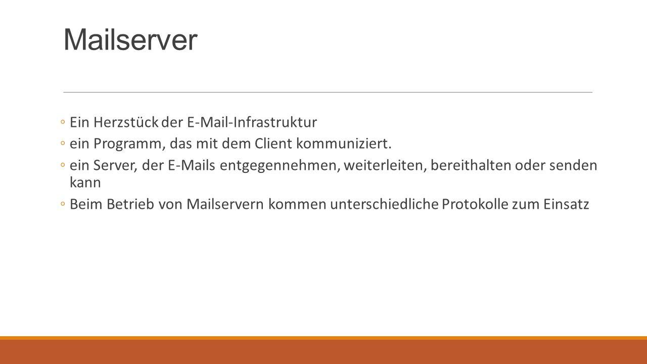 Mailserver Ein Herzstück der E-Mail-Infrastruktur