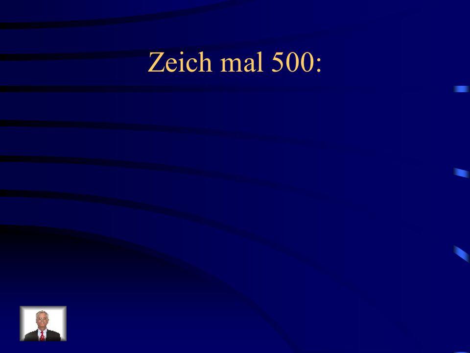 Zeich mal 500:
