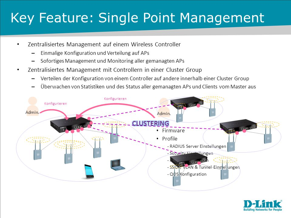 Key Feature: Single Point Management