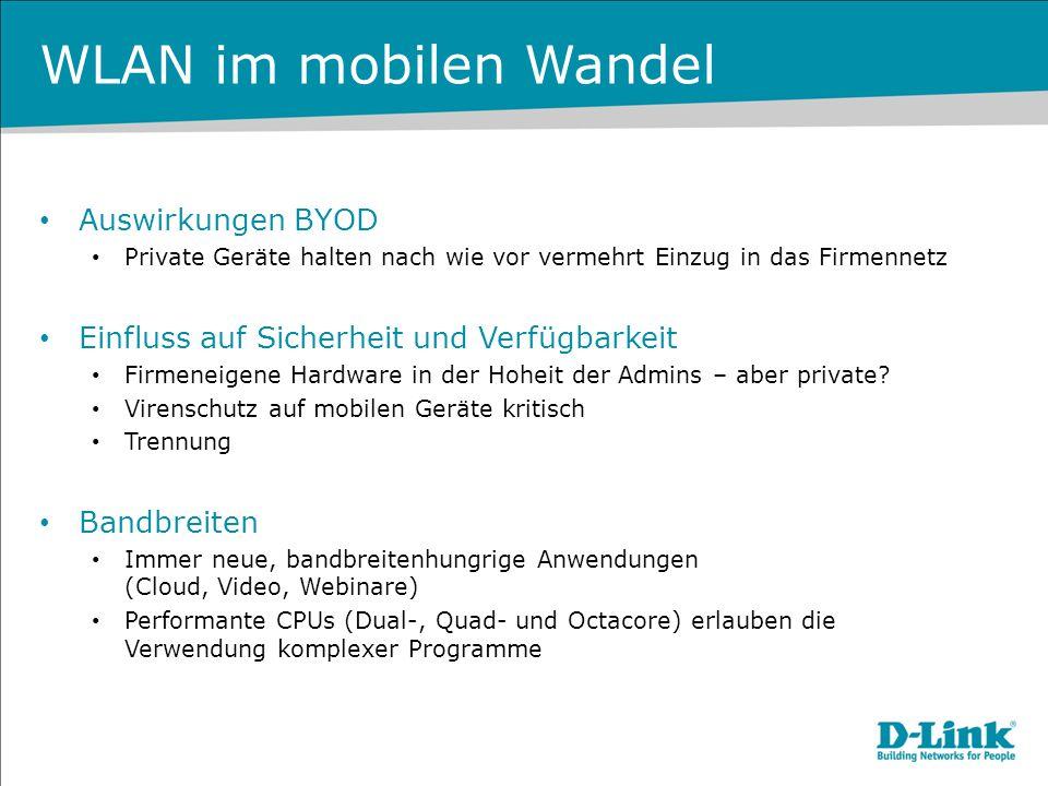 WLAN im mobilen Wandel Auswirkungen BYOD