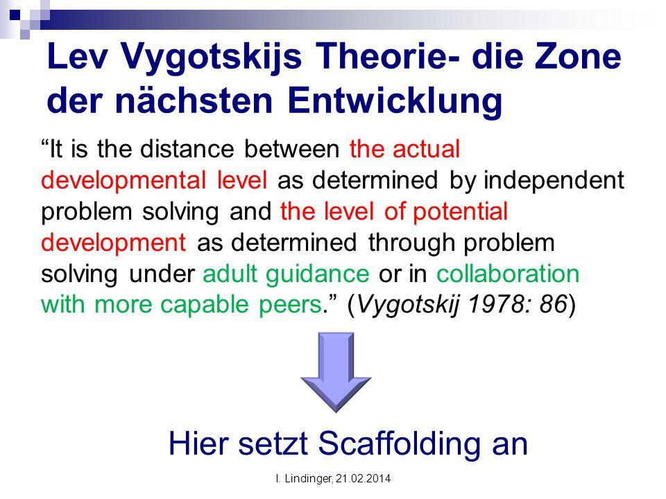 Lev Vygotskijs Theorie- die Zone der nächsten Entwicklung
