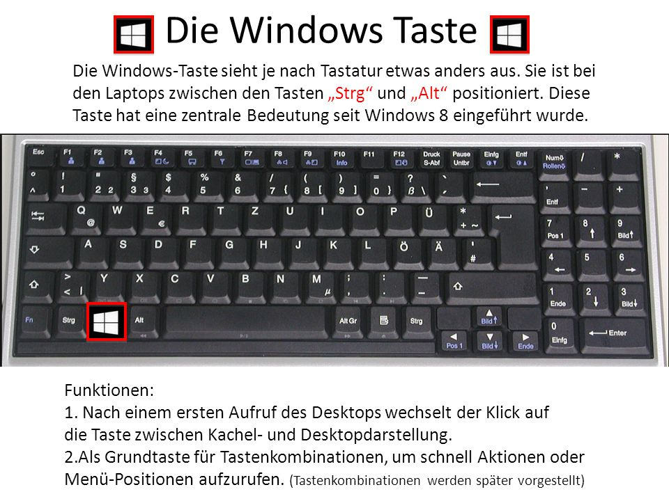 Die Windows Taste
