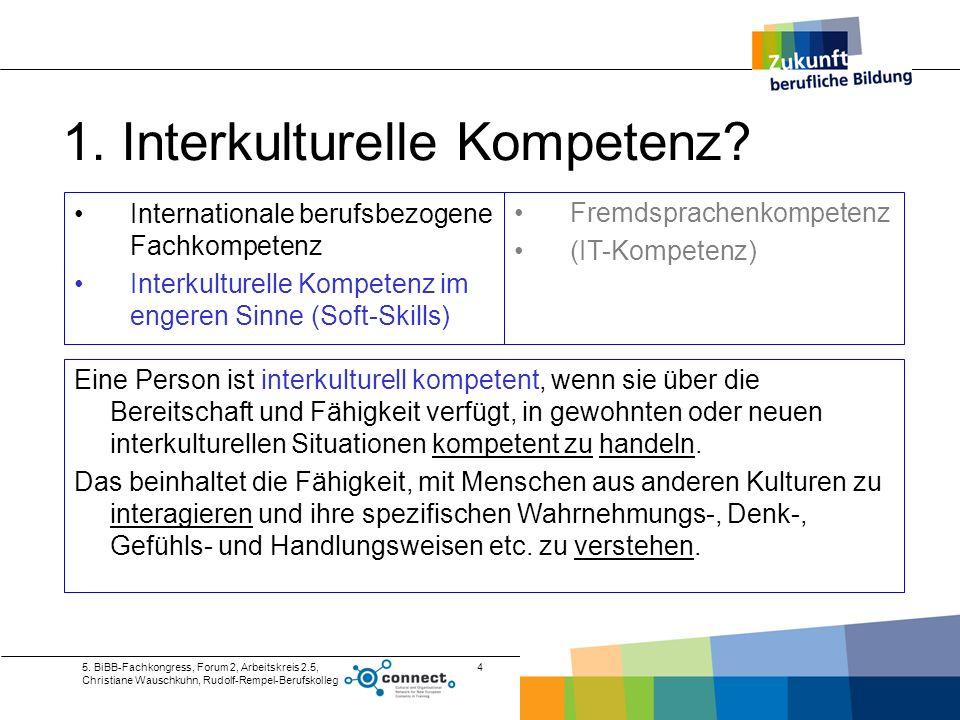1. Interkulturelle Kompetenz