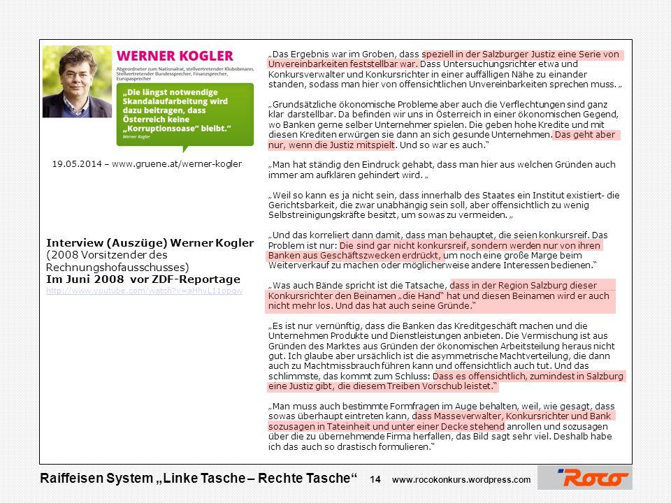 Interview (Auszüge) Werner Kogler