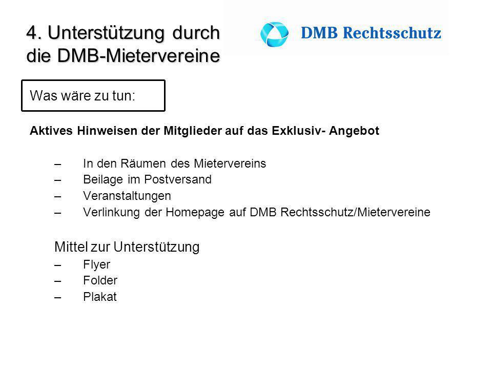 die DMB-Mietervereine