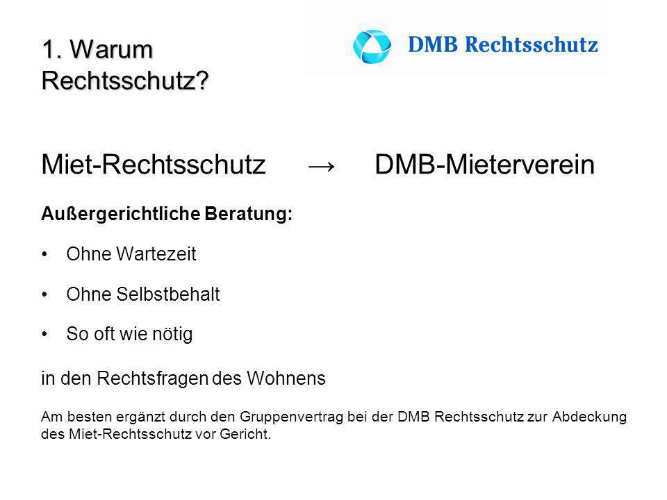 Miet-Rechtsschutz → DMB-Mieterverein