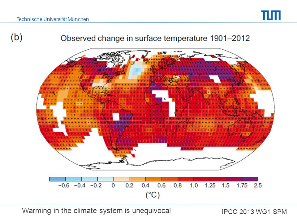 Warming in the climate system is unequivocal
