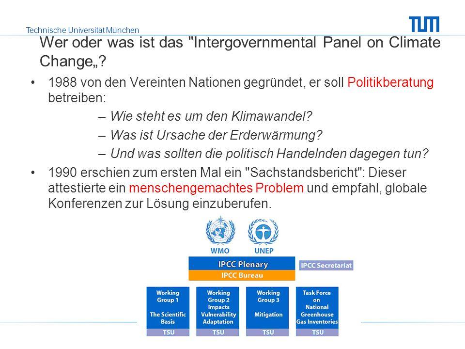 """Wer oder was ist das Intergovernmental Panel on Climate Change"""""""