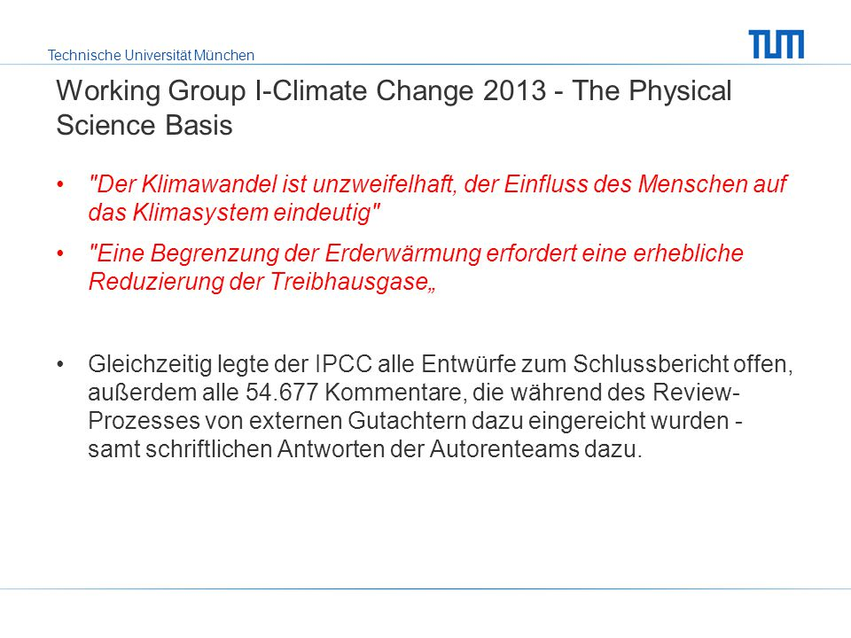 Working Group I-Climate Change 2013 - The Physical Science Basis