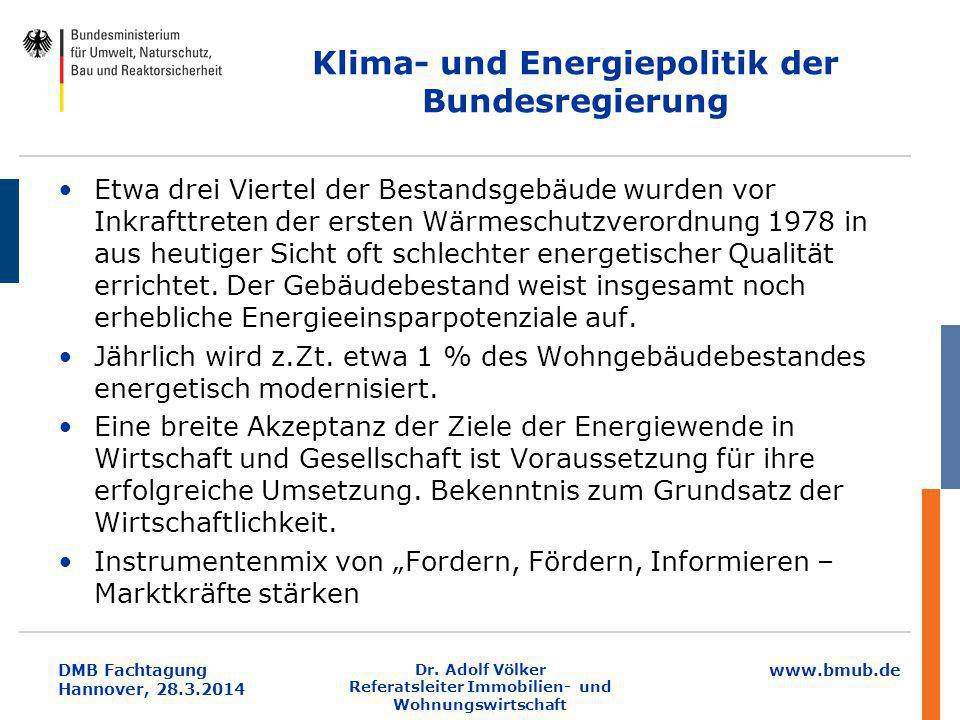 Klima- und Energiepolitik der Bundesregierung