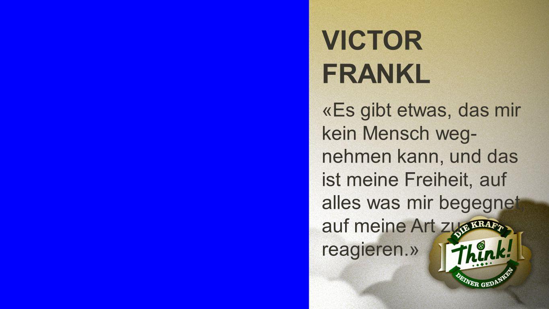 Victor Frankl VICTOR FRANKL.