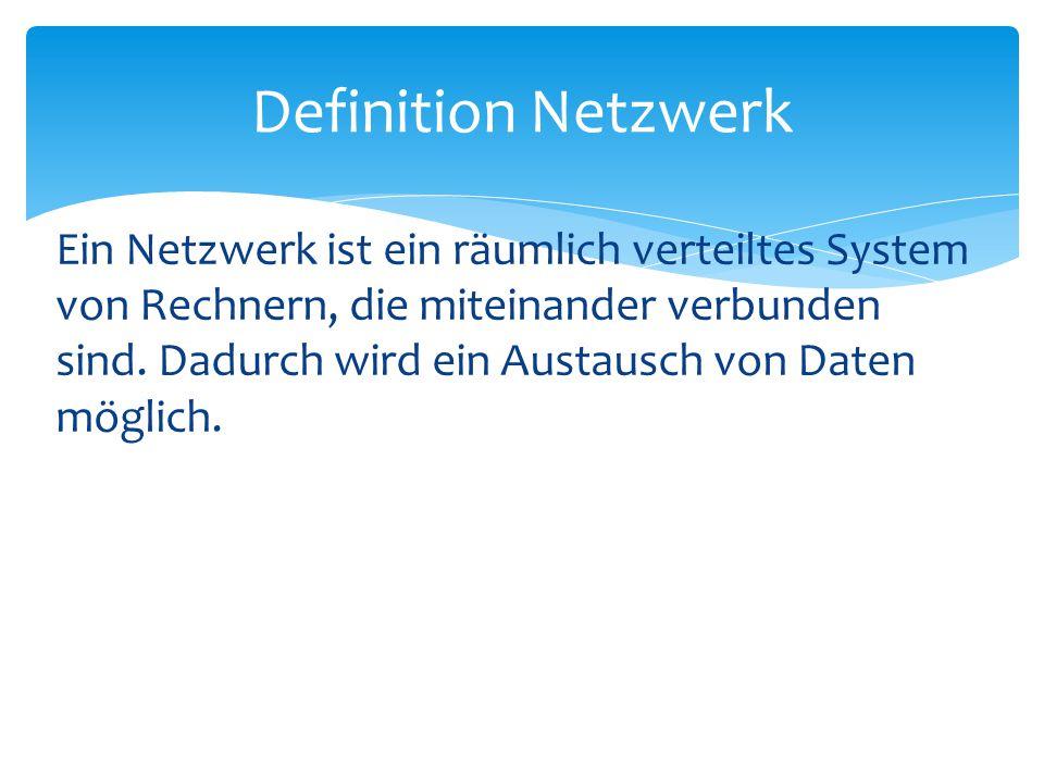 Definition Netzwerk