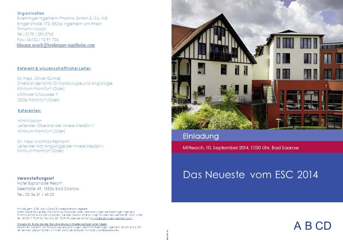 ABCD Das Neueste vom ESC 2014 Einladung