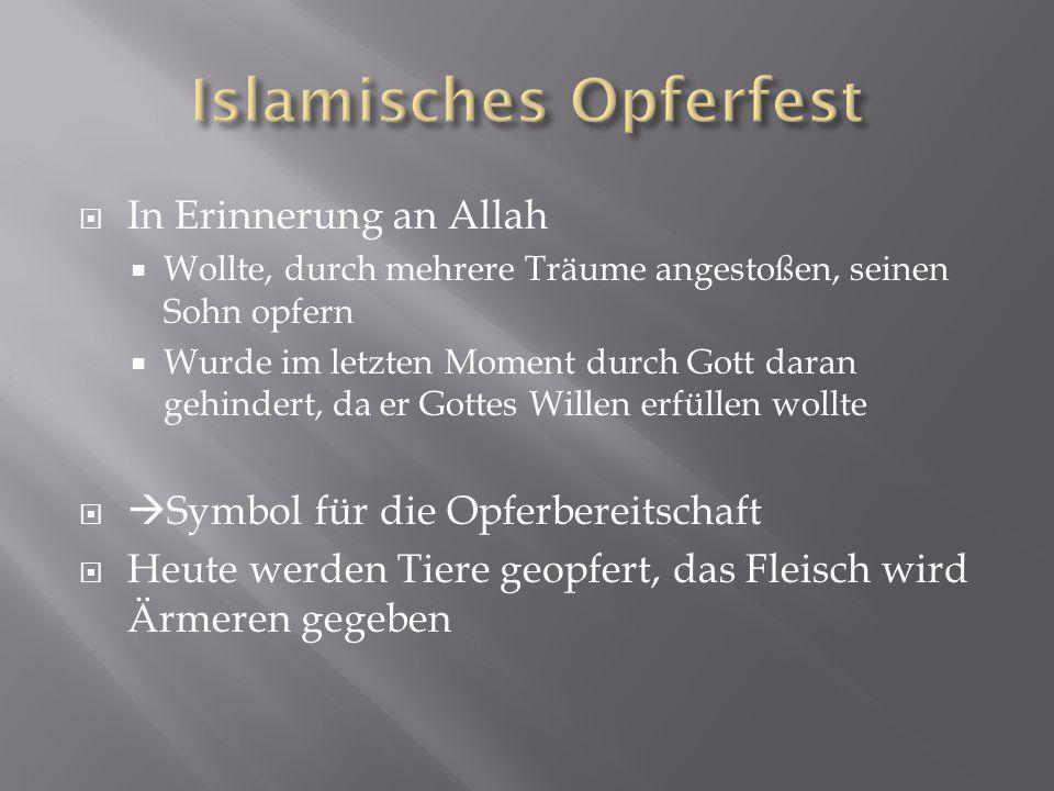 Islamisches Opferfest
