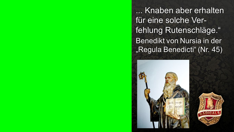 """""""Regula Benedicti (Nr. 45) b"""