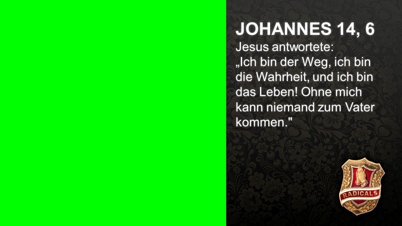 Johannes 14, 6