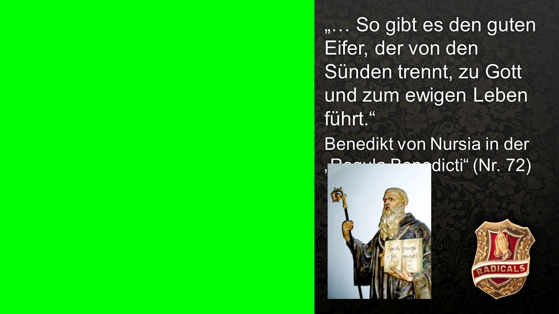 """""""Regula Benedicti (Nr. 72) 1"""