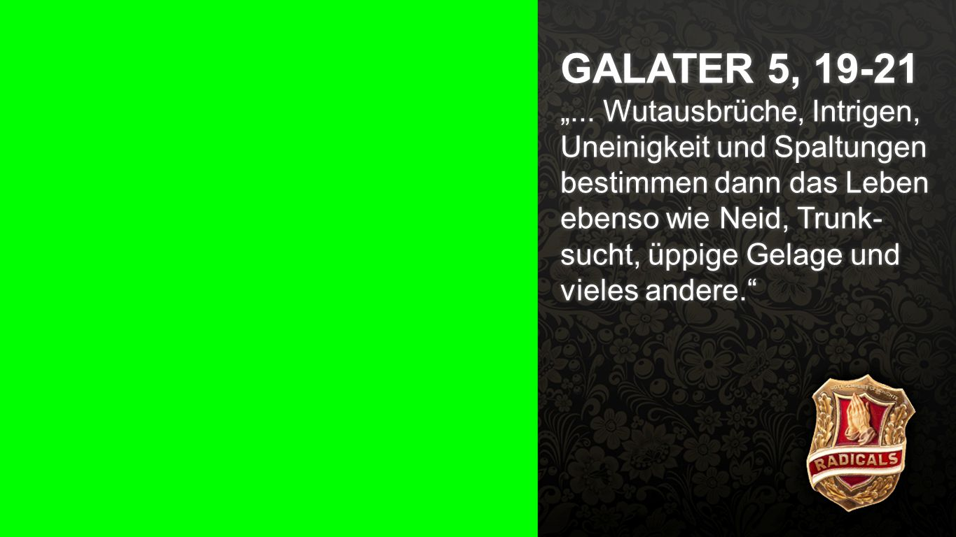Galater 5, a