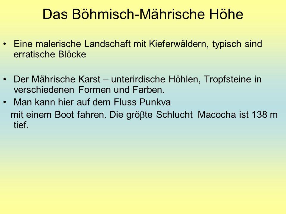 Das Böhmisch-Mährische Höhe