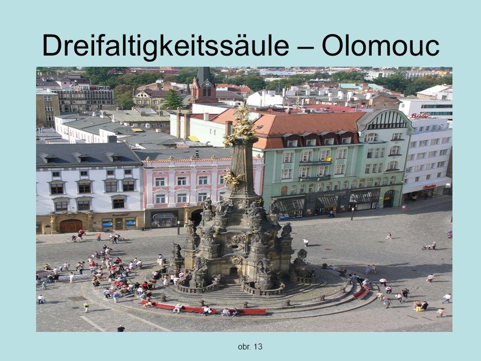 Dreifaltigkeitssäule – Olomouc