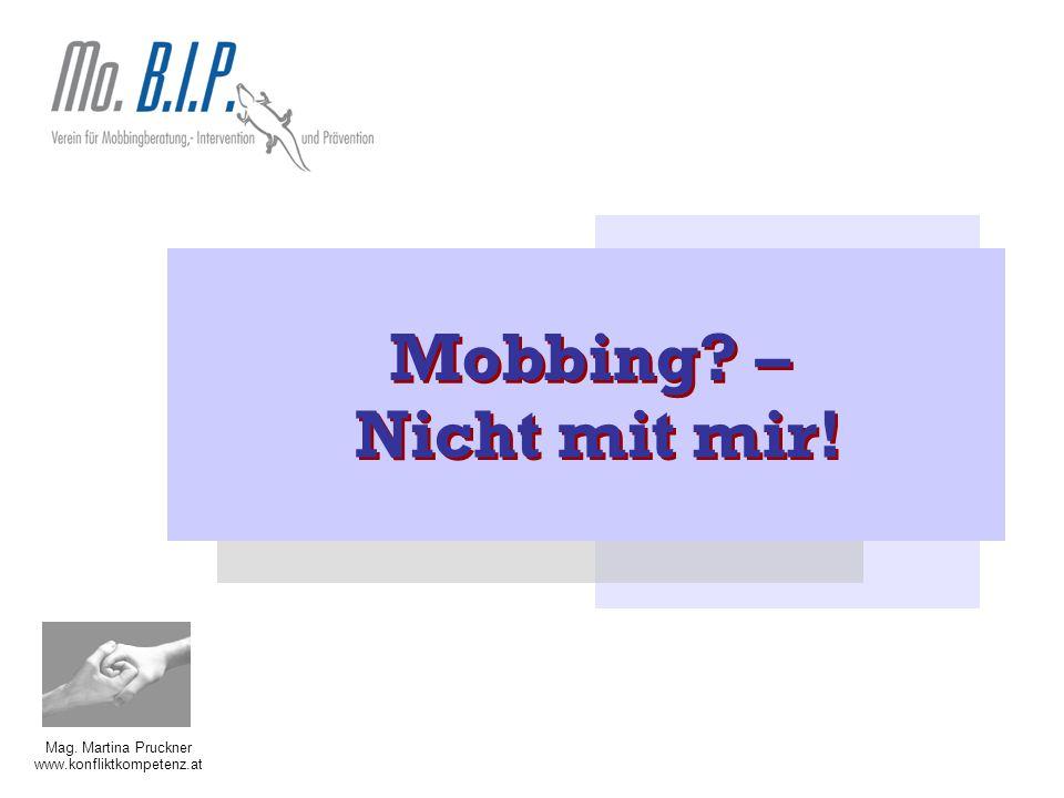 Mobbing – Nicht mit mir!