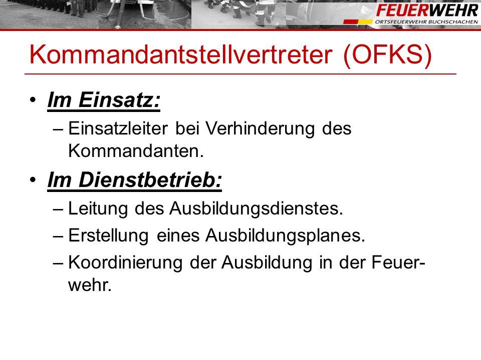 Kommandantstellvertreter (OFKS)