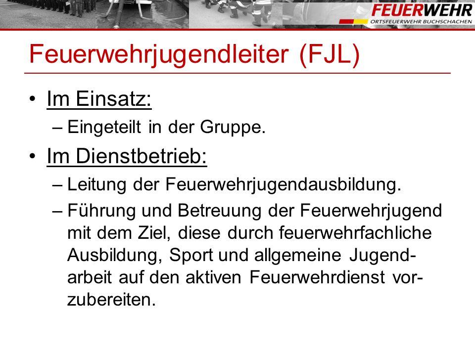 Feuerwehrjugendleiter (FJL)