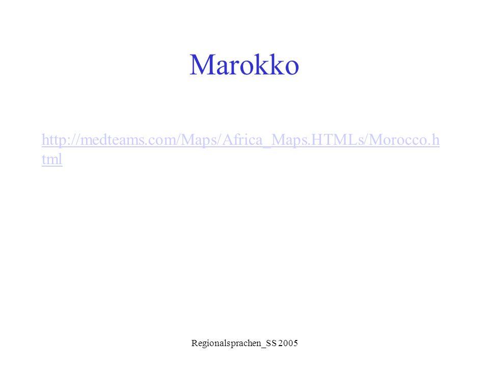 Marokko http://medteams.com/Maps/Africa_Maps.HTMLs/Morocco.html