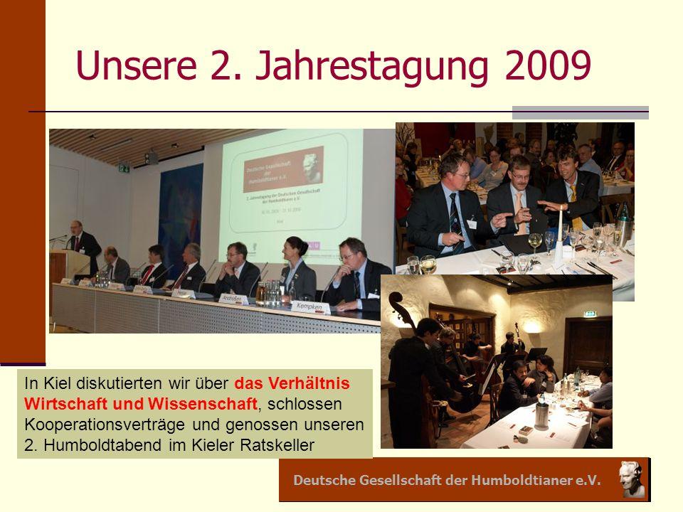 Unsere 2. Jahrestagung 2009