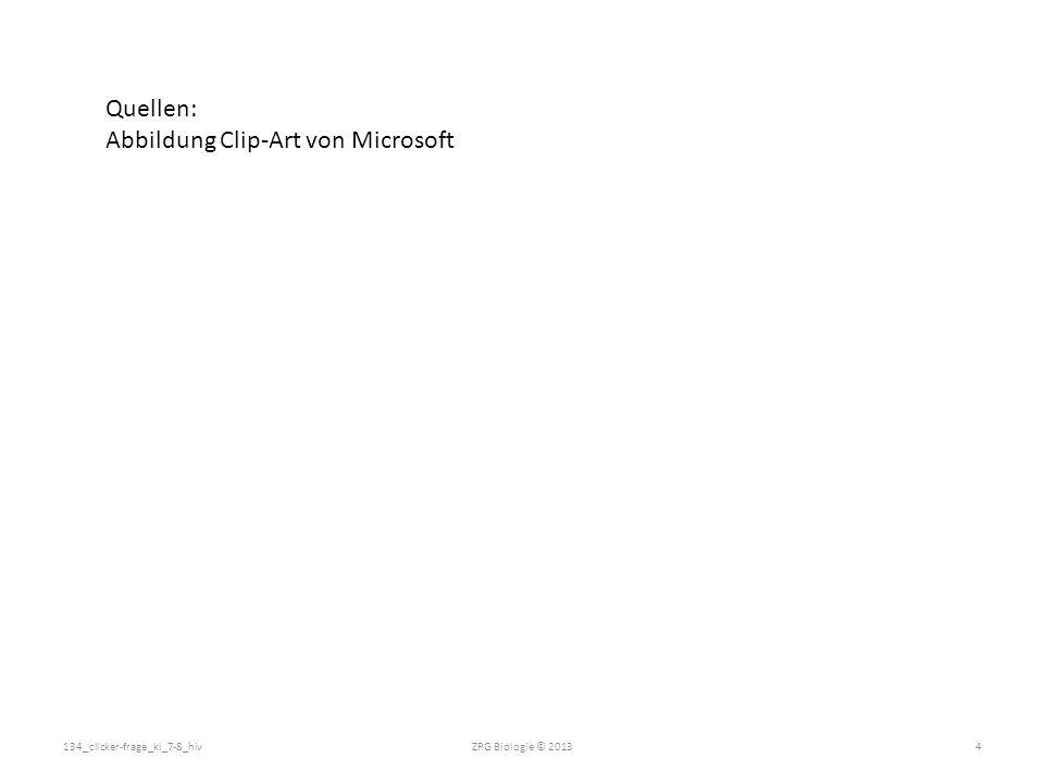 Abbildung Clip-Art von Microsoft