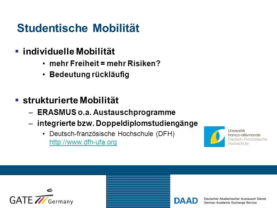 Studentische Mobilität