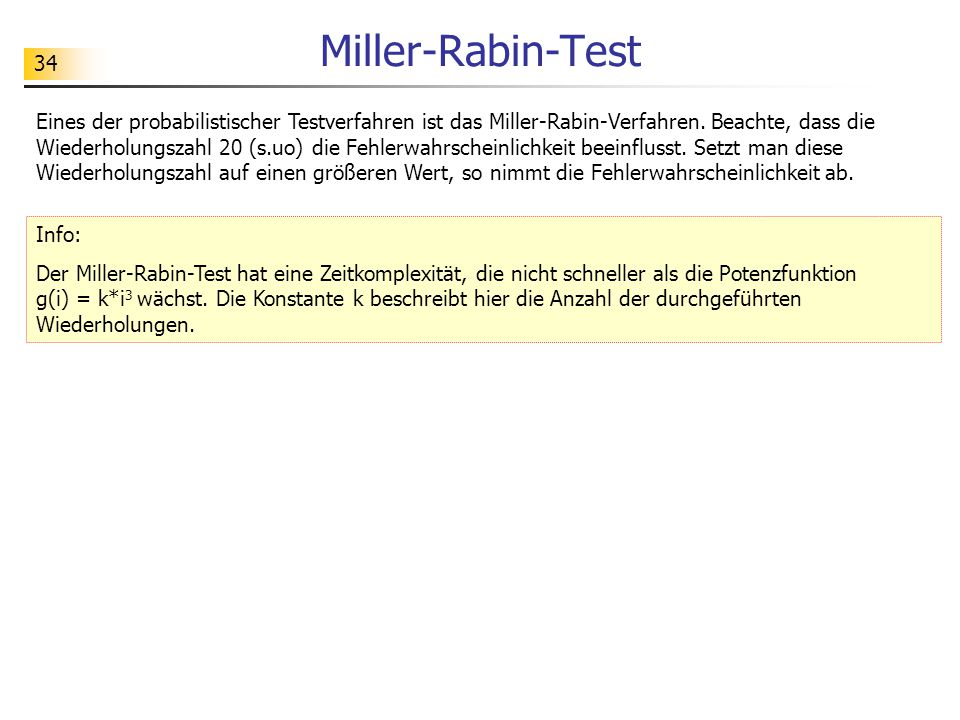 Miller-Rabin-Test