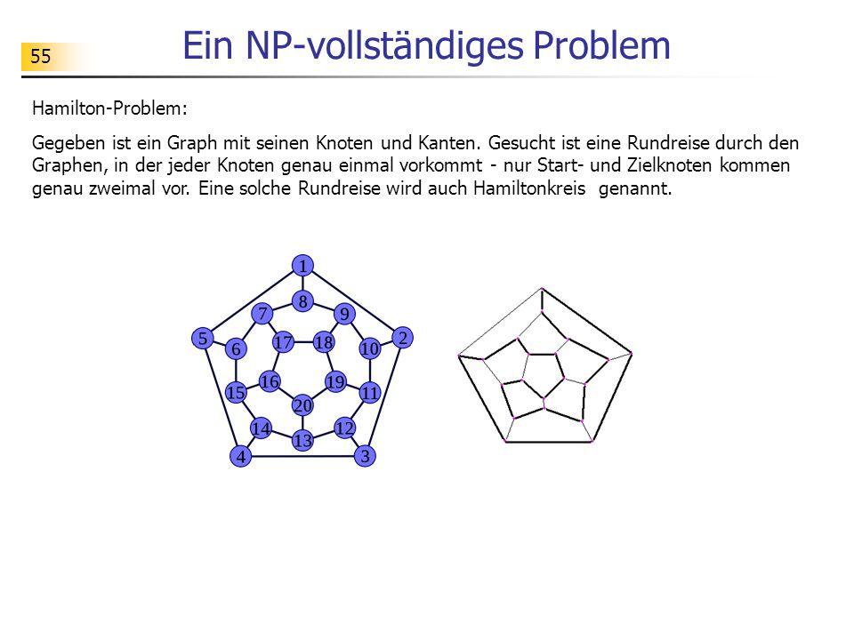 Ein NP-vollständiges Problem
