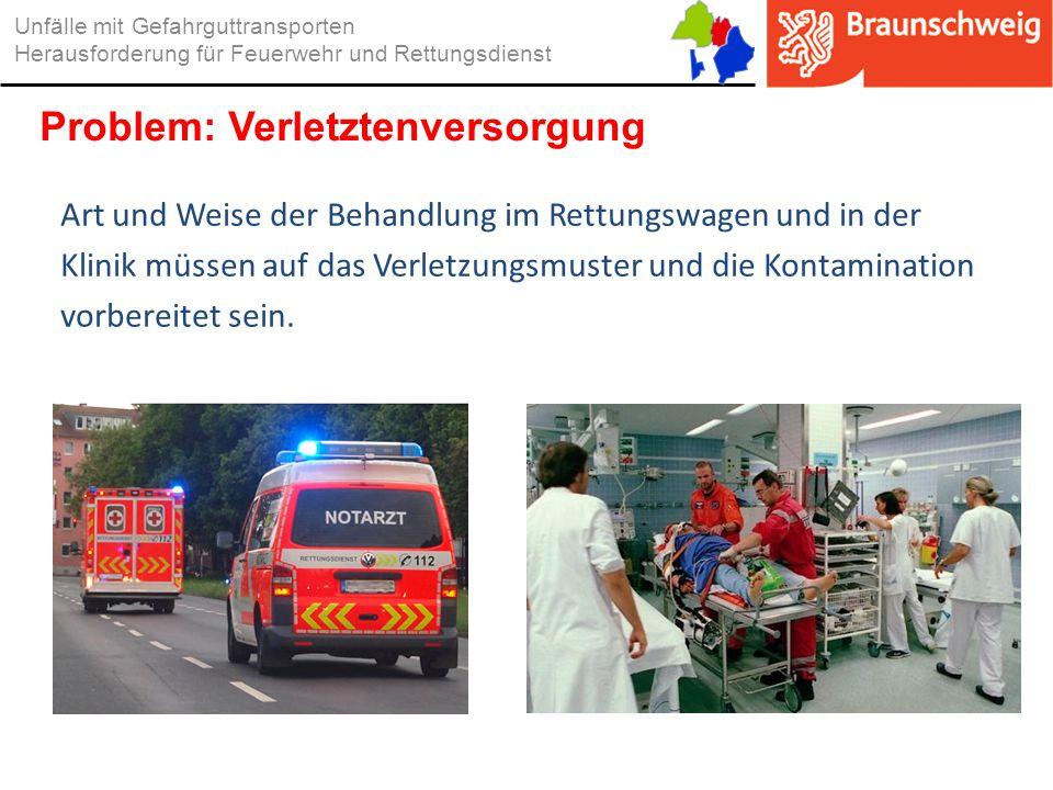 Problem: Verletztenversorgung