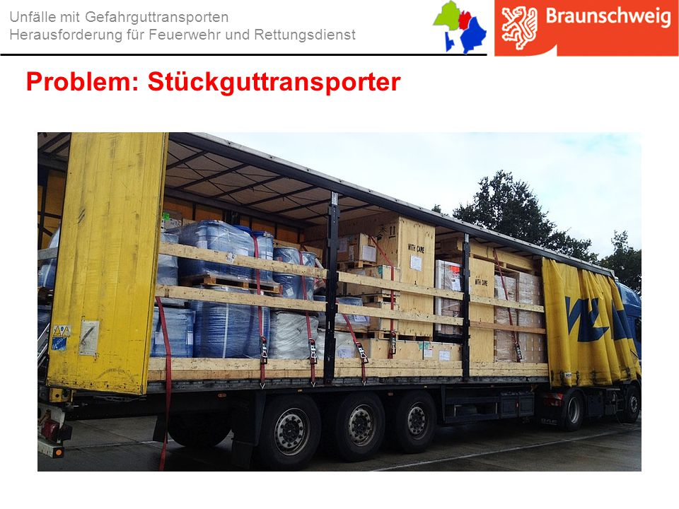 Problem: Stückguttransporter