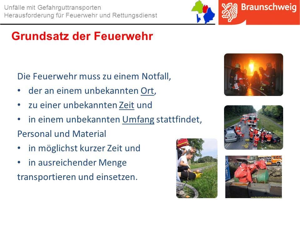 Grundsatz der Feuerwehr