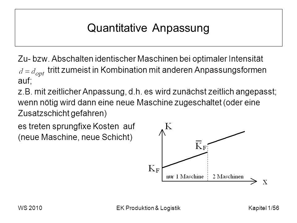 Quantitative Anpassung