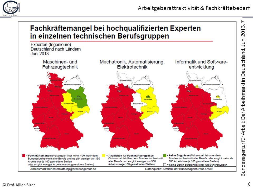 Bundesagentur für Arbeit: Der Arbeitsmarkt in Deutschland, Juni 2013, 7