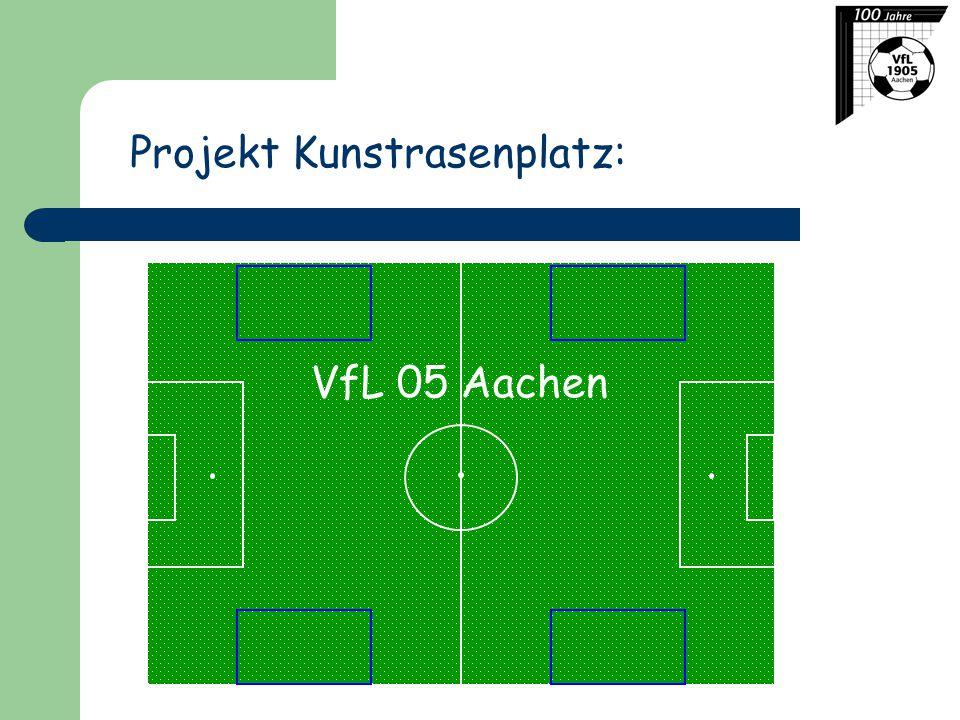 Projekt Kunstrasenplatz: