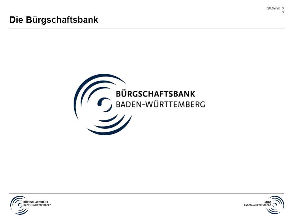 Die Bürgschaftsbank