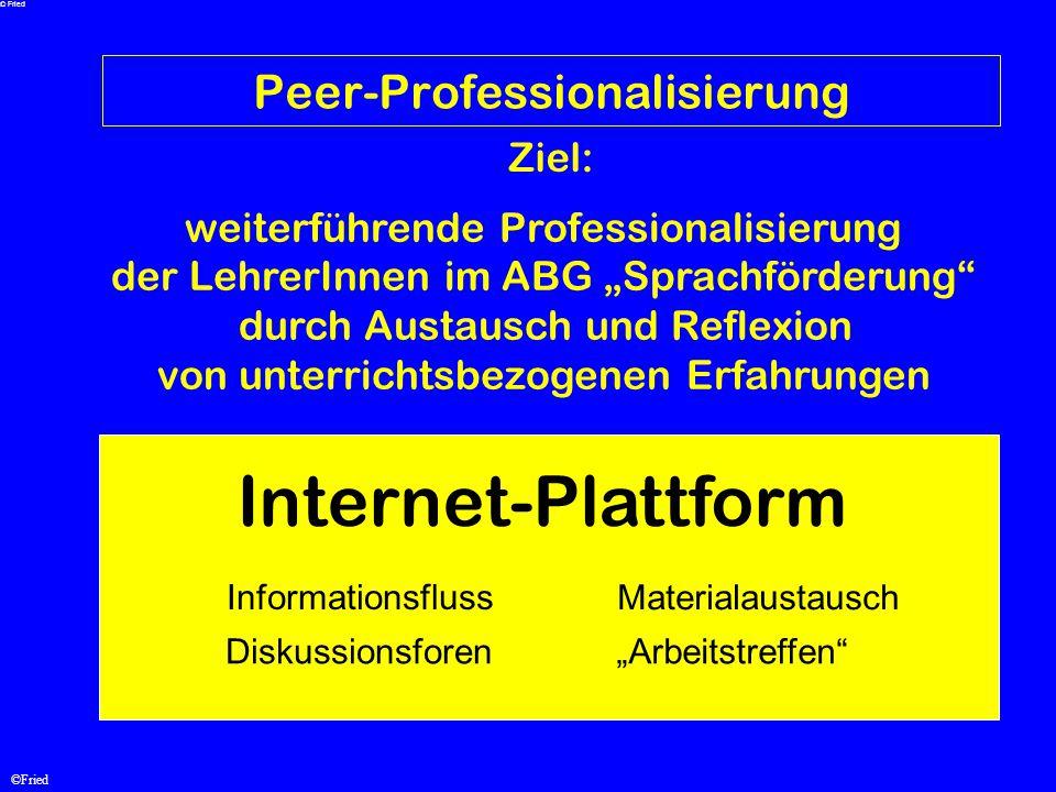 Peer-Professionalisierung
